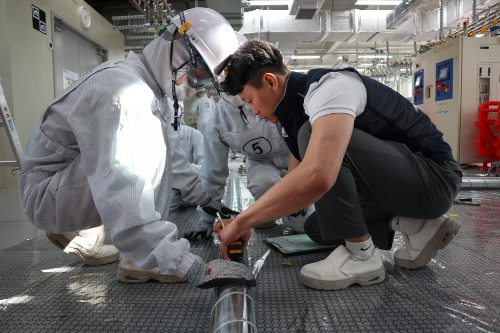 삼성전자, 반도체 협력사 정밀배관 인력 양성 지원